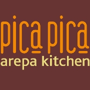 This is the restaurant logo for Pica Pica Arepa Kitchen