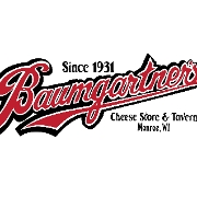 This is the restaurant logo for Baumgartner's Cheese Store & Tavern 2020