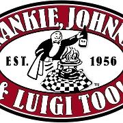This is the restaurant logo for Frankie Johnnie & Luigi Dublin