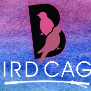 This is the restaurant logo for The Bird Cage