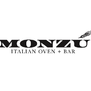 This is the restaurant logo for Monzú Italian Oven & Bar