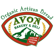 This is the restaurant logo for Avon Bakery & Deli