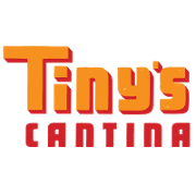 This is the restaurant logo for Tiny's Cantina