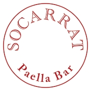 This is the restaurant logo for Socarrat Paella Bar