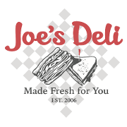 This is the restaurant logo for Joe's Deli
