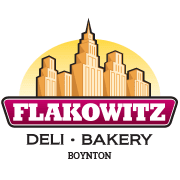 This is the restaurant logo for Flakowitz