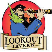 This is the restaurant logo for Lookout Tavern - Oak Bluffs