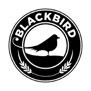 This is the restaurant logo for Blackbird