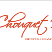 This is the restaurant logo for Chouquet's
