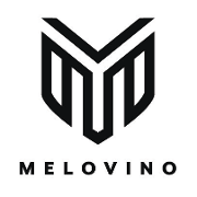 This is the restaurant logo for MELOVINO