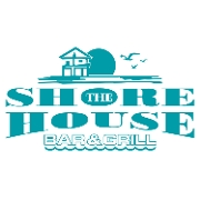 This is the restaurant logo for The Shore House bar and grill