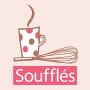 This is the restaurant logo for Souffles