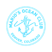 This is the restaurant logo for Mario's Ocean Club