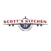 This is the restaurant logo for Scott's Kitchen