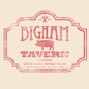 This is the restaurant logo for Bigham Tavern