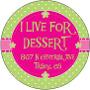 Restaurant logo for I Live for Dessert