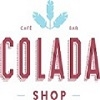 This is the restaurant logo for Colada Shop