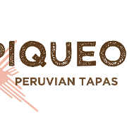 This is the restaurant logo for Piqueos