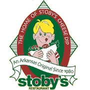 This is the restaurant logo for Stoby's Conway