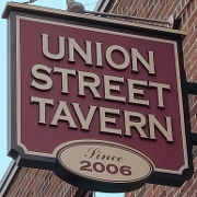 This is the restaurant logo for Union Street Tavern