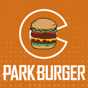 This is the restaurant logo for Park Burger