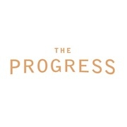 This is the restaurant logo for The Progress