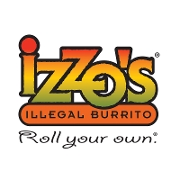 This is the restaurant logo for Izzo's Illegal Burrito