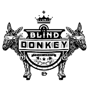 This is the restaurant logo for The Blind Donkey Long Beach