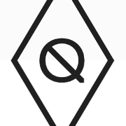 This is the restaurant logo for The Queensboro