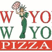 This is the restaurant logo for NY NY Pizza