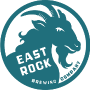 This is the restaurant logo for East Rock Brewing Company