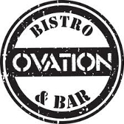 This is the restaurant logo for Ovation Bistro & Bar