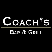 This is the restaurant logo for Coach's Bar & Grill
