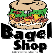 This is the restaurant logo for Moscow Bagel & Deli