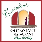This is the restaurant logo for Cantalini's Salerno Beach