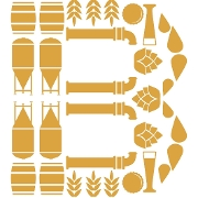 This is the restaurant logo for The Brewtorium Brewery & Kitchen