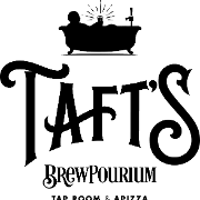 This is the restaurant logo for Taft's Brewpourium