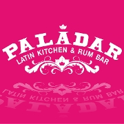This is the restaurant logo for Paladar Latin Kitchen