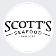 This is the restaurant logo for Scott's Seafood San Jos