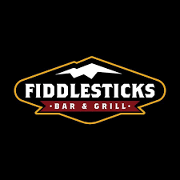 This is the restaurant logo for Fiddlesticks Bar & Grill