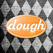 This is the restaurant logo for Datz Dough