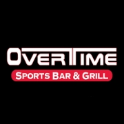 This is the restaurant logo for Overtime Sports Bar & Grill