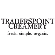 This is the restaurant logo for TRADERS POINT CREAMERY