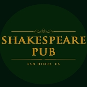 This is the restaurant logo for Shakespeare Pub
