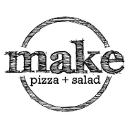 This is the restaurant logo for make pizza+salad