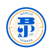 This is the restaurant logo for Marcus B&P