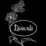 This is the restaurant logo for Diamond's of Hamilton