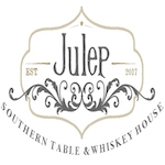 This is the restaurant logo for Julep: Southern Table & Whiskey House