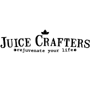 This is the restaurant logo for Juice Crafters