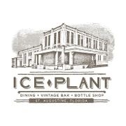 This is the restaurant logo for Ice Plant Bar & Bottle Shop